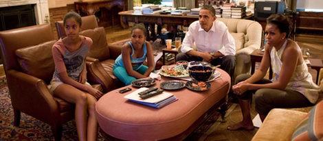Los Obama se reúnen para ver la final del Mundial de Fútbol Femenino 2011