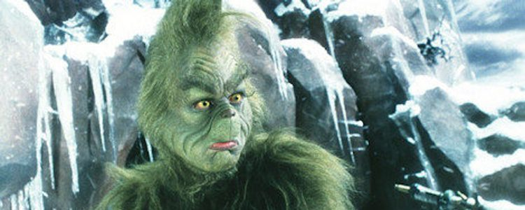 Jim Carrey es El Grinch