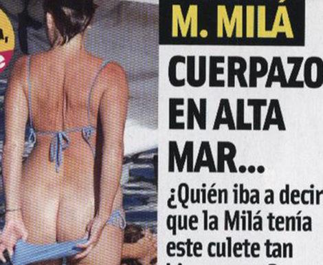 Mercedes Milá protagoniza el último pillado del verano tras enseñar el culo en Menorca