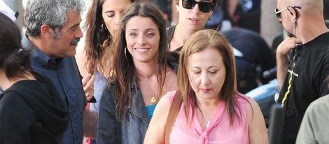Ingrid Rubio y Carmen Machi ruedan la película 'La estrella' en Barcelona