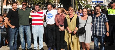 Los actores de 'Verano azul' juntos en Nerja