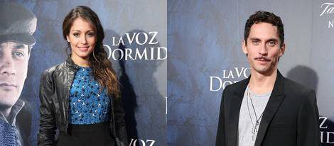 Moya y Hugo Silva apoyan el estreno de 'La voz dormida' en Madrid