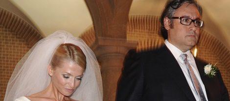 Polémica boda del escritor Juan Manuel de Prada y María Cárcaba