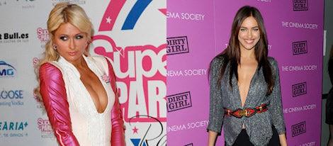 Paris Hilton e Irina Shayk: famosas con escote