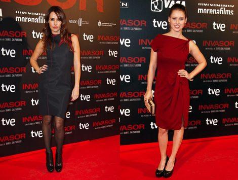 Manuela Vellés y Patricia Vico en la premiere en Madrid de 'Invasor'