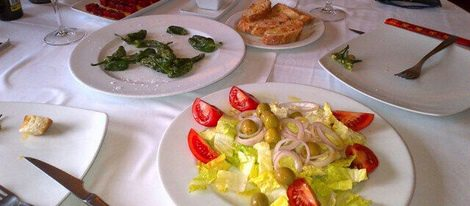Comida de Carles Puyol y Vanesa Lorenzo