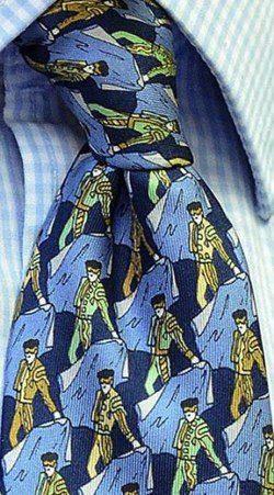 Polémica corbata taurina de Eduardo de Inglaterra