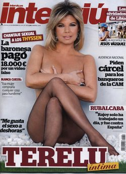 Terelu Campos protagoniza una recatada portada de Interviú: