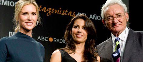 Judit Mascó, Ana Pastor y Luis del Olmo en los Premios Protagonistas 2011