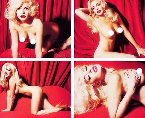 Foto desnuda de Lindsay Lohan