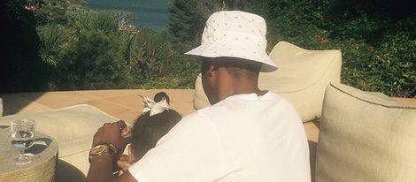Jay Z disfruta de las vacaciones en familia junto a su hija Blue Ivy Carter
