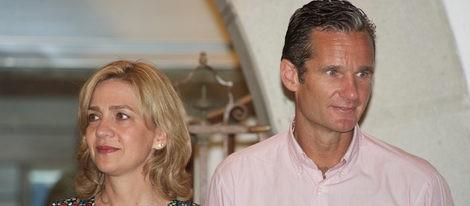 Los Duques de Palma, la Infanta Cristina e Iñaki Urdangarín en sus últimas vacaciones en Palma de Mallorca