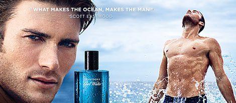 Cartel publicitario de Davidoff 'Cool Water'