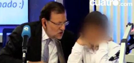 Mariano Rajoy con su hijo Juan en la radio | cuatro.com