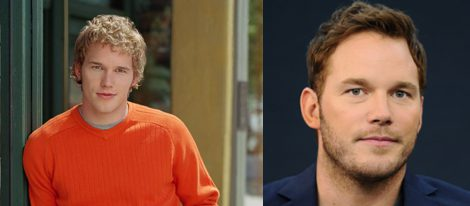 Chris Pratt en 'Everwood' y en la actualidad