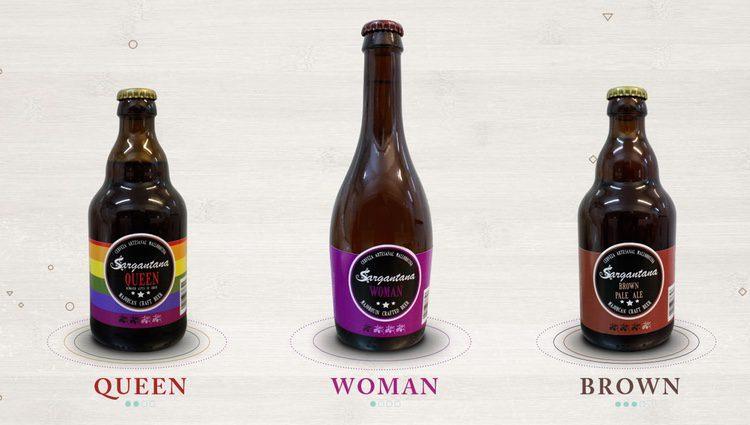 Las nuevas cervezas 'Queen', 'Woman' y 'Brown' de Sargantana