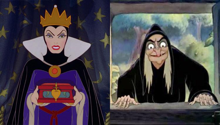 La Reina Grimhilde es también la bruja malvada de 'Blancanieves y los siete enanitos ( 1937)