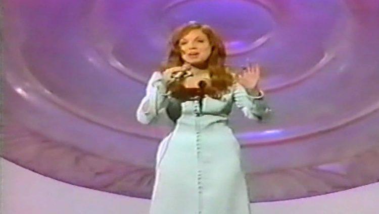 Karina en su actuación en Eurovisión / Foto: Youtube