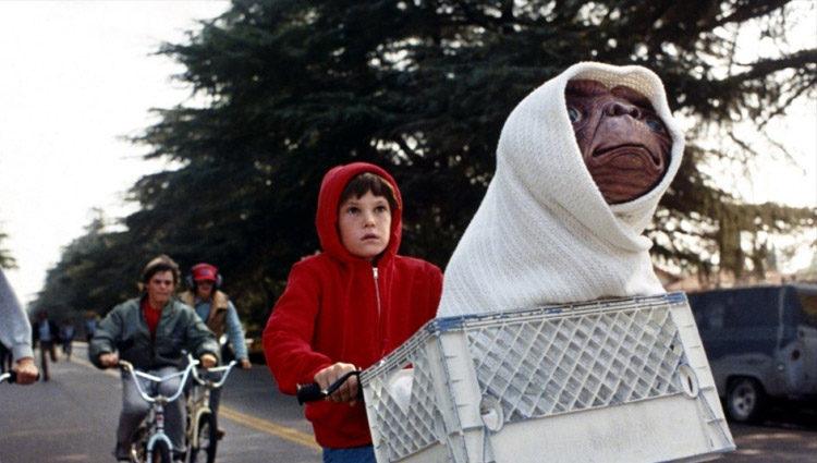 Fotograma de la película de 'E.T. El Extraterrestre' (1982)