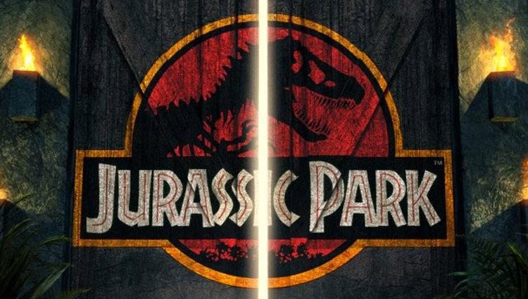 Cartel de la película 'Parque Jurásico'