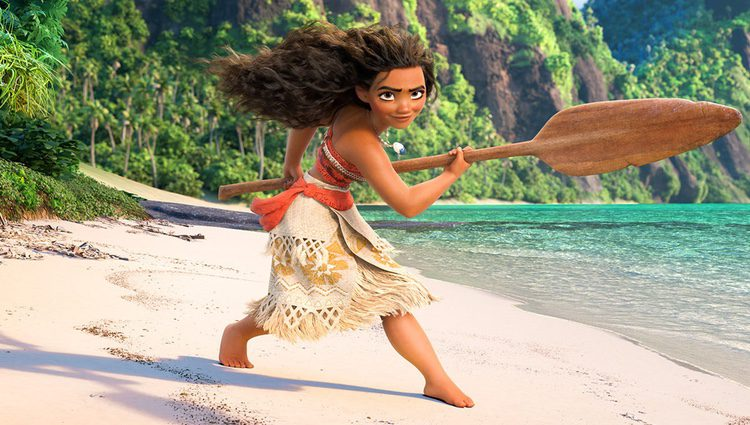Fotograma de la película 'Vaiana' de Disney Pixar