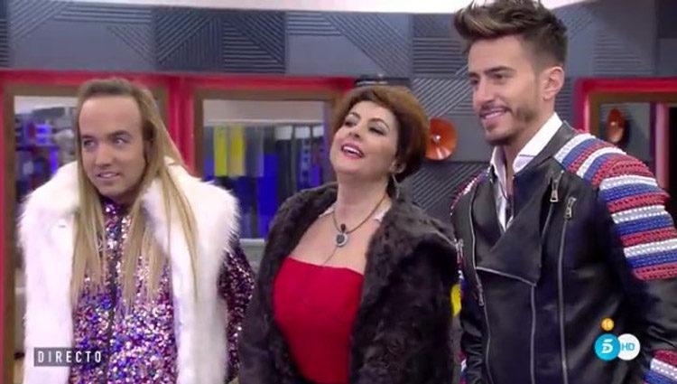 Irma Soriano, Aless Gibaja y Marco Ferri son los primeros en entrar en la casa | telecinco.es