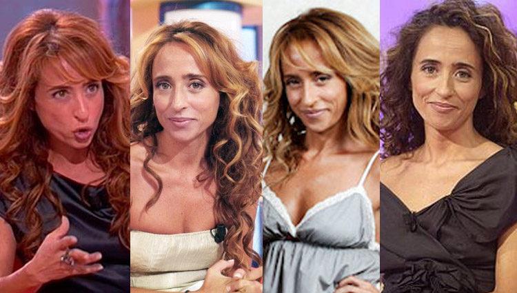 Distintos looks de María Patiño durante su época como colabora de 'DEC' en Antena 3