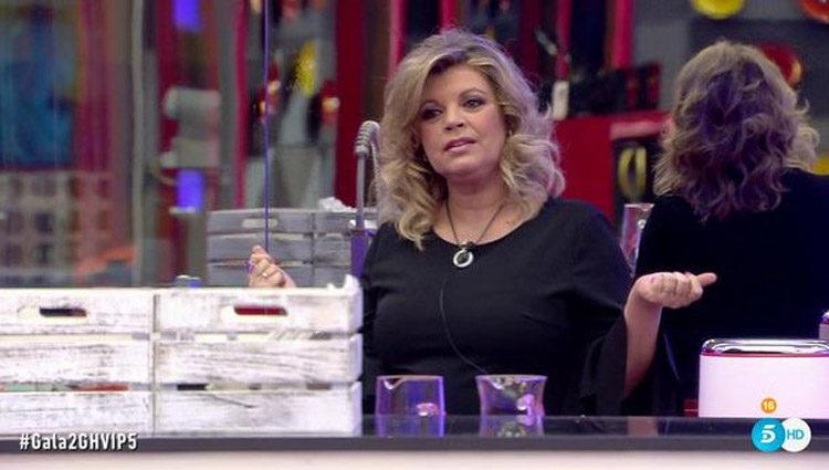 Terelu Campos en la cocina de 'GH VIP' | telecinco.es