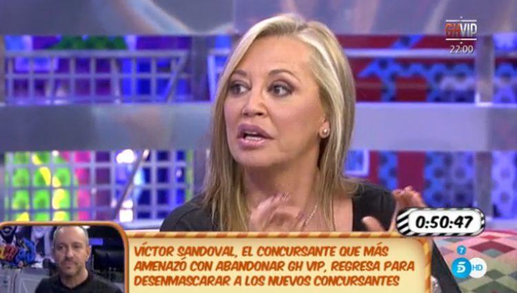 Belén Esteban no hablará de Toño Sanchís /Telecinco.es