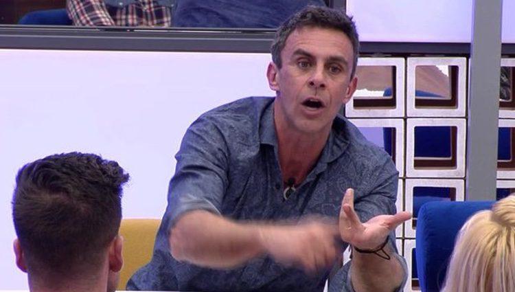 Alonso Caparrós discutiendo / Foto: telecinco.es