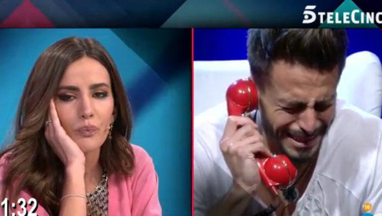 Marco se rompe al escuchar la voz de su novia Aylén | telecinco.es