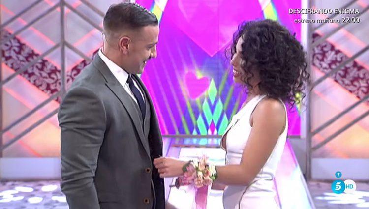 Rafa Mora pidiendo matrimonio a su novia/ telecinco.es
