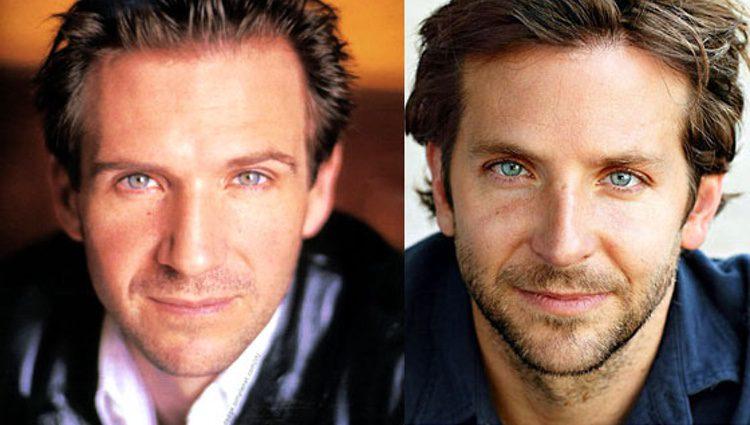 Ralph Fiennes a la izquierda y Bradley Cooper a la derecha