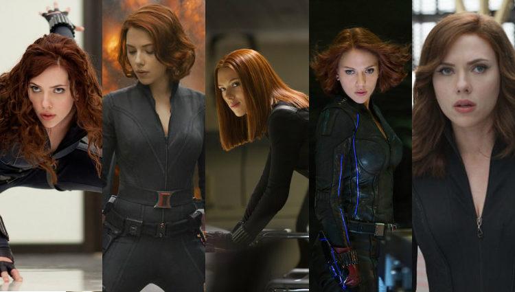 Distintos looks de Scarlett Johansson como pelirroja en su papel de Viuda Negra | Marvel
