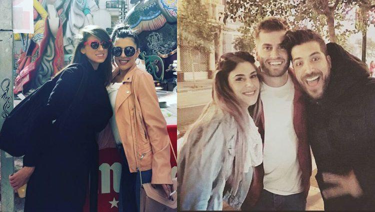 Bea y Rodrigo con Alain y Simona ('GH 17') / Instagram
