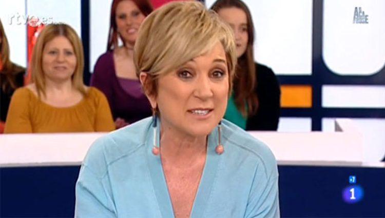 Inés Ballester dando la mejor noticia que podría dar / RTVE