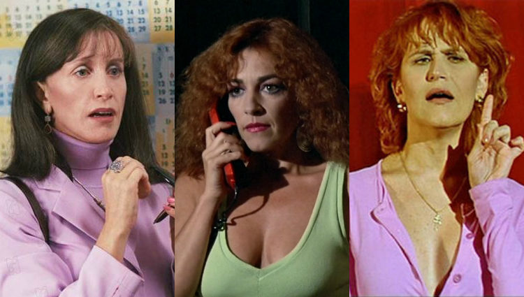 Felicity Huffman, Carmen Maura y Antonia San Juan como mujeres transexuales