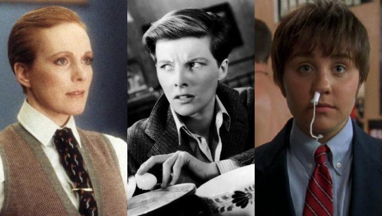 Julie Andrews, Katherine Hepburn y Amanda Bynes también cambiaron de género