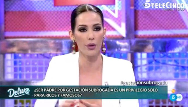 Tamara Gorro hablando de su experiencia con la adopción / Telecinco.es