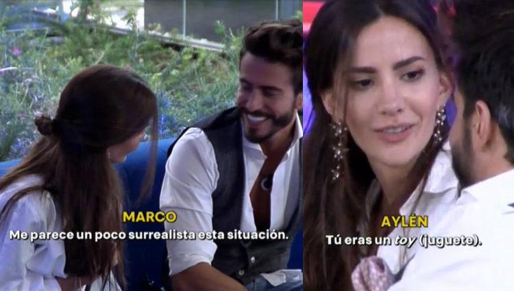 Aylén y Marco hablan de la relación entre Antônio y Alyson | telecinco.es