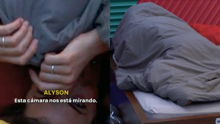 Alyson y Antônio vuelven a hacer 'edredoning' | telecinco.es