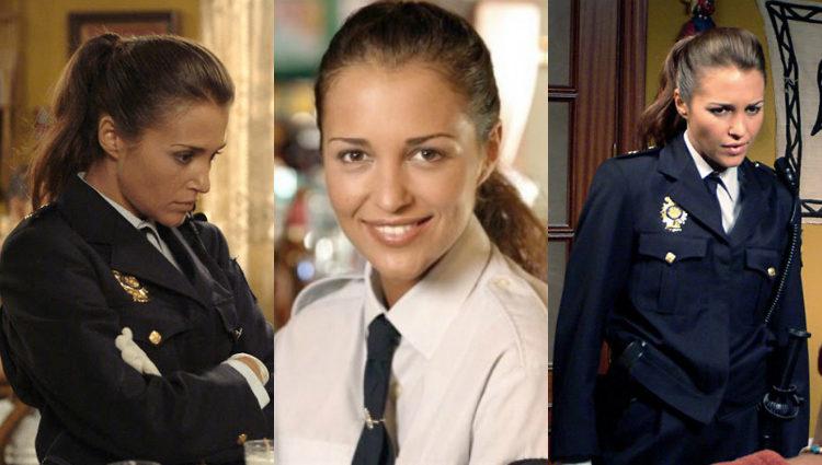 Paula Echevarría como Clara Osma en la serie 'El comisario'
