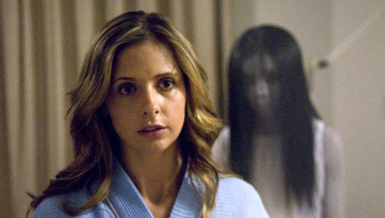 La actriz estadounidense en su papel de Karen Davis en 'El grito'