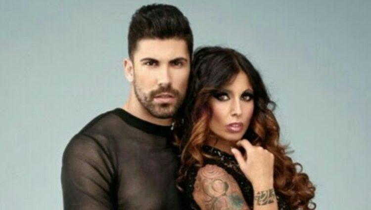 Christian López y Susana Ruiz en un posado