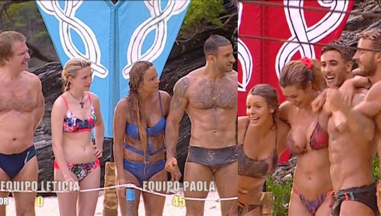 El equipo de Leticia se va al 'infierno' y el de Paola al 'cielo'   telecinco.es