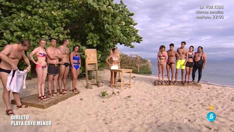 Leticia y Paola escogen a los miembros de sus respectivos equipos   telecinco.es