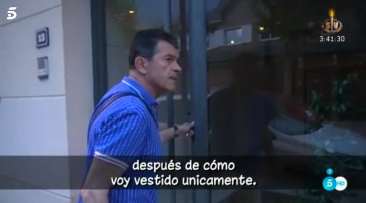 Gervasio Bustamante se enfada con la prensa