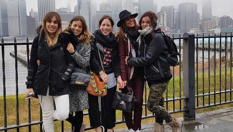 'Las pencas' en su viaje a Nueva York / Instagram