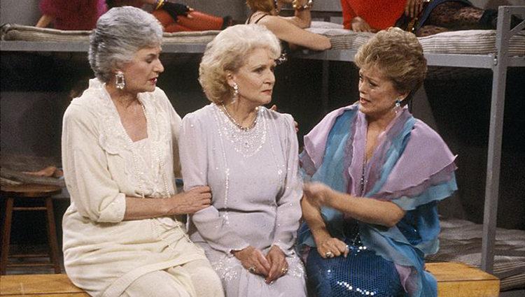 Dorothy, Rose y Blanche en la cárcel
