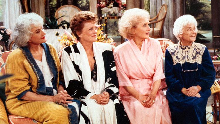 Las cuatro protagonistas de 'Las chicas de oro'